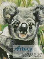 Mini Koala 2 Cross Stitch Pattern http://www.artecyshop.com/index.php?main_page=product_info&cPath=11_12&products_id=678