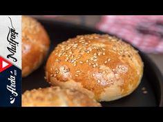 Hamburger Ekmeği I Arda'nın Mutfağı - YouTube Hamburger, Food And Drink, Make It Yourself, Cooking, Youtube, Pasta, Baking Center, Kochen, Hamburgers