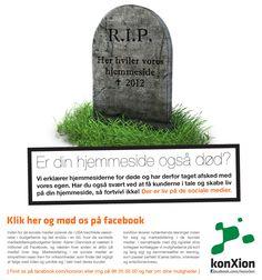 Er hjemmesiderne virkelige døde? Og er der liv på de sociale medier? Social Media, Marketing, Social Networks, Social Media Tips