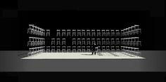 Nijinsky Opéra de Limoges Scénographie et costumes Alain Lagarde Chorégraphie Sergio Simon
