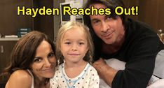General Hospital (GH) spoilers tease that Hamilton Finn (Michael Easton) will be concerned about Violet Barnes (Jophielle). GH fans know Hayden Michael Easton, Dallas Tnt, General Hospital Spoilers, Man Games, Tonight Alive, Bold And The Beautiful, Poor Children, Claire Holt, Birthday Messages