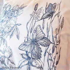 Helen Fir-tree machine embroidery  #helenfirtree #handmade #rucniprace  #idea  #pillows #machineembroidery #embroidery Fir Tree, Machine Embroidery, Needlework, Pillows, Handmade, Instagram, Women, Embroidery, Dressmaking