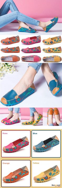US$21.34 + Free shipping. Size(US): 5~12. Flat Shoes, Shoes for Women, Outdoor Athletic Shoes, Womens Fashion, Womens Shoes, Summer Outfits. Color: Yellow, Orange, Dark Blue, Rose. Casual and comfortable! Love style! Upper Material: PU Leather.  Outsole Material: Rubber.  Lining Material: PU Leather.