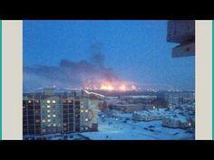 Largest Oil Refinery In Europe On Fire In Huge Blaze!