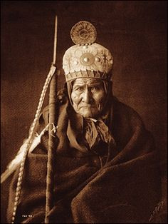 Geronimo was a Chiricahua Apache, the son of Chal-o-Row of Mangus-Colorado, the war chief of the Warm Spring Apaches, whose career of murder and devastation through Arizona, New Mexico, and Northern Mexico in his day almost equaled that of his terrible son. (excerpt Newspaper article, New York Times).