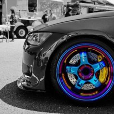 M3 with neochrome Work wheels