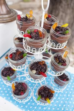 Host a fun Earth Day Party with these great party ideas and Earth Day Activities. Lots of fun Earth Day Treats, and free printables to help throw a great Earth Day Party. Dessert Cups, Dessert Recipes, Desserts, Backyard Birthday Parties, Toddler Birthday Parties, 8th Birthday, Birthday Cakes, Kid Parties, Theme Parties