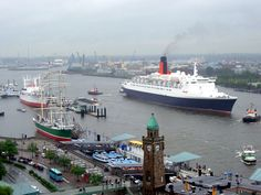 The RMS Queen Elizabeth 2