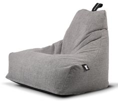 Mighty b extreme lounging beanbag chair cover in light grey - Skins
