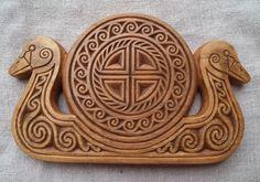 Swan boat, inspiration Bronze Age by ~fibacz on deviantART