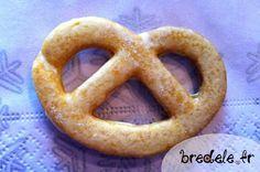 Bretzel, petits biscuits Alsace