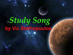 Listen to Study Song by Vic Stathopoulos. https://soundcloud.com/vic10/study-song #new #music #school #library #musicbiz #songs #student #students