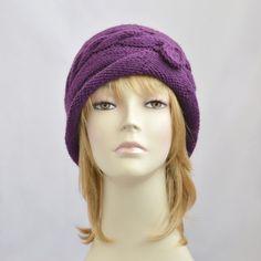 Womens Knit Hat, Beanie for Women, Winter Hat, Knit Beanie Hat, Womens Hat