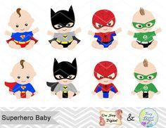 Superhéroe bebé Clip Art Super bebé Clip Art Clipart de