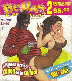 BELLAS DE NOCHE mexican comic SEXY GIRLS, SPICY #292