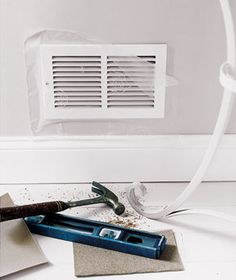 During home repairs and painting, use the wrap to keep dirt and drips away from vents, lamps, and other household items, just tear, press, and seal.