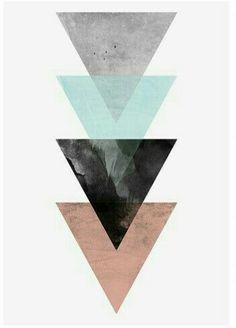 Cute Wallpapers, Geometric Art, Wallpaper, Wallpaper Backgrounds, Artwork, Poster Design, Abstract, Geometric Wallpaper, Prints