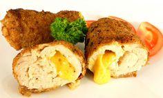 Рулеты из курицы с сыром