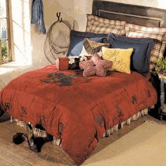 Save - on all Western Bedding and Comforter Sets at Lone Star Western Decor. Your source for discount pricing on cowboy bed sets and rustic comforters. Boys Cowboy Room, Cowboy Bedroom, Western Bedding, Rustic Bedding, Country Bedding, Country Western Decor, Country Life, Country Living, Rustic Decor