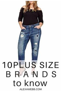 10 Plus Size Brands to Know - Alexa Webb - plus size fashion for women - Plus Size Fashion For Women, Fashion Tips For Women, Fashion Advice, Plus Size Women, Womens Fashion, Fashion Trends, Size 14 Fashion, Fashion Ideas, Fashion Websites