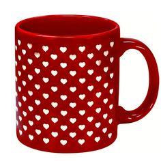 Taza San Valentín Muchos Corazoncitos
