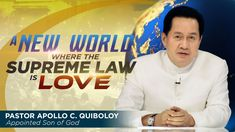 A New World where the Supreme Law is Love Spiritual Enlightenment, Spirituality, Thank You Pastor, Simile, Great Leaders, Son Of God, The Real World, Apollo, Ministry