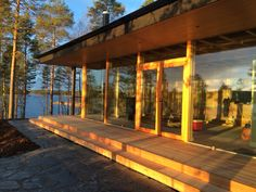 Villa K&Y @ Lake Saimaa archipelago, Savonlinna, Finland. Keywords: Sustainable, functional, contemporary, natural, ecological, timeless and four seasons.