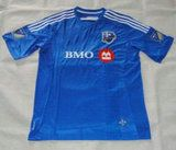 Montreal Impact 2015-2016 Season Home Soccer Jersey