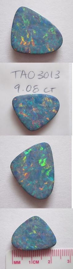 Doublets 10240: 9.08 Ct Australian Opal Doublet W Queensland Boulder Backing # Tao 3013 -> BUY IT NOW ONLY: $240 on eBay!