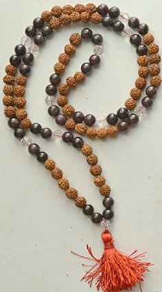 Odishabazaar Garnet Rudraksha Mix Unknoted Japa Mala 108+1 Beads Stone of Love and Devotion Odishabazaar http://www.amazon.com/dp/B00XU961GU/ref=cm_sw_r_pi_dp_uKx2wb1W21SW2