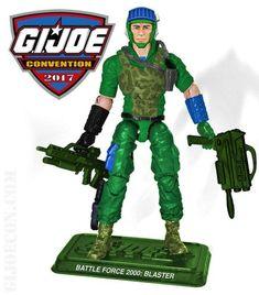 2010 gijoe Adventure Team 3.75 armes et Crate JOECON Exclusive