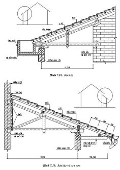 Bamboo Architecture, Modern Architecture House, Facade Architecture, Architectural Technician, Wall Section Detail, Building A Shed Roof, Truss Structure, Roof Truss Design, Building Foundation