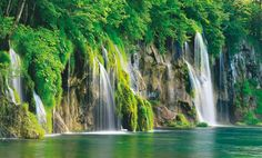 Plitvice Lakes National Park is the oldest national park in Southeast Europe and the largest park in Croatia. The park is filled with luscious green scenery, beautiful lagoons, and amazing waterfalls.