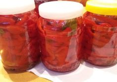 Pickling Cucumbers, Pesto, Pickles, Mason Jars, Food And Drink, Recipes, Drinks, Canning, Red Peppers