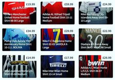 Great collection of kits on sale this week on http://ift.tt/1dRUZVs #barca #barcelona #fcb #fcbarca #fcbarcelona #milan #acmilan #mufc #manchesterunited #asroma #roma #inter #intermilan #juventus
