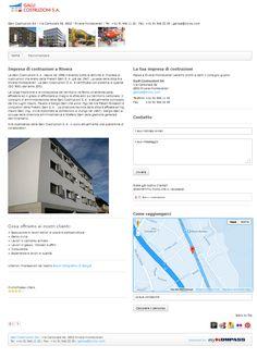 Impresa generale costruzioni, Rivera, Edilizia