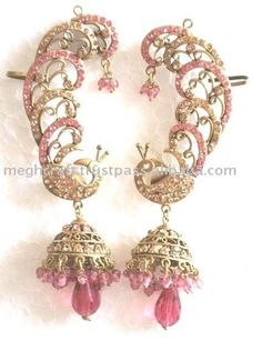 Ear Cuff Indian Earrings