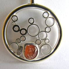Oregon Coast Agate/Sterling Silver Sunset by OregonCoastAgates Rock Jewelry, Unique Jewelry, Oregon Coast, Agate, Decorative Plates, Sunset, Sterling Silver, Pendant, Handmade Gifts