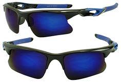 c6c8f0ce605 Extreme Wrap Around Revo Anti-Glare Mirrored High Performance Sports  Sunglasses for Cycling
