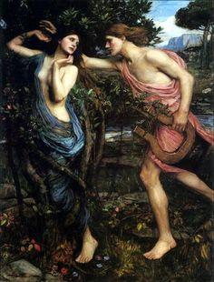 MITOLOGÍA PARA NIÑOS: Apolo y Dafne, una historia de amor imposible