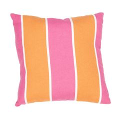 Veranda Stripe Indoor/Outdoor Throw Pillow