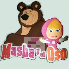 LOs personajes de Masha y el Oso Aplique de 80 cm de alto en faomy Scooby Doo, Fictional Characters, Art, Masha And The Bear, Presents, Projects, Manualidades, Art Background, Scoubidou