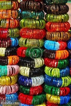 Colourful glass bangles...I love the tinkle sound it makes..:-)