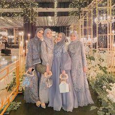 Hijab Prom Dress, Dress Brukat, Hijab Gown, Muslimah Wedding Dress, Hijab Evening Dress, Kebaya Dress, Hijab Wedding Dresses, Hijab Bride, Prom Dresses With Sleeves