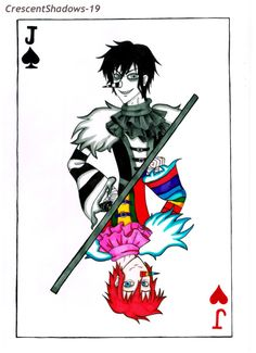 Laughing Jacks of Heart and of Spades by crescentshadows19 on DeviantArt