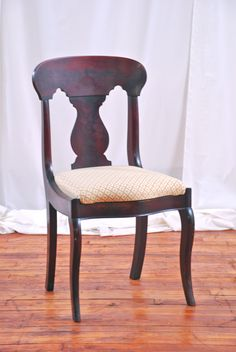 Vintage Dining Chairs $75 - Chicago http://furnishly.com/catalog/product/view/id/1897/s/vintage-dining-chair/