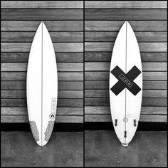 "Need an album surfboard in my life. New 5'11"" X 18.5"" X 2.25"" Dischord for @aaronjessee // #albumsurfboards #custom #albumdischord"