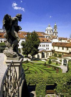 Vrbovska Gardens, Prague, Czechia