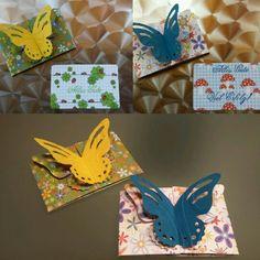 Kleine Schmetterlingskarte