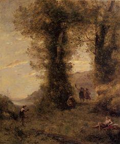 Camille Corot, Pastorale c.1873
